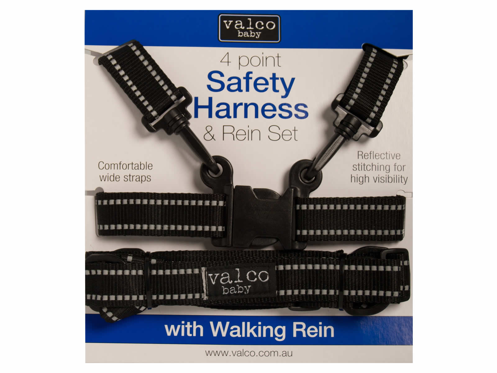 Safety Harness and Rein Set 4 Points